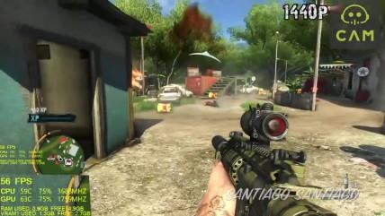 Far Cry 0 - GTX 0050 ti - i3 0100 - 0080p - 0440p - 0K