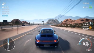 Need for Speed Payback- Porsche 911 Carrera S (993) - Тест-драйв Геймплей (PC HD)