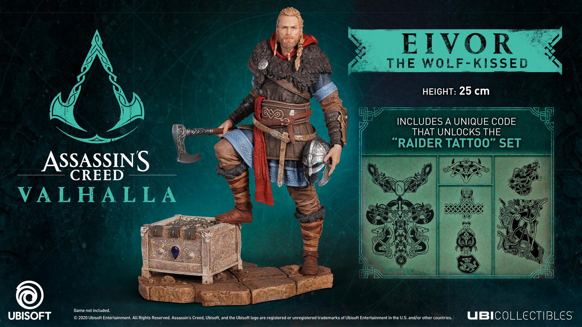 Скрытые секреты коллекционного издания Assassin's Creed: Valhalla