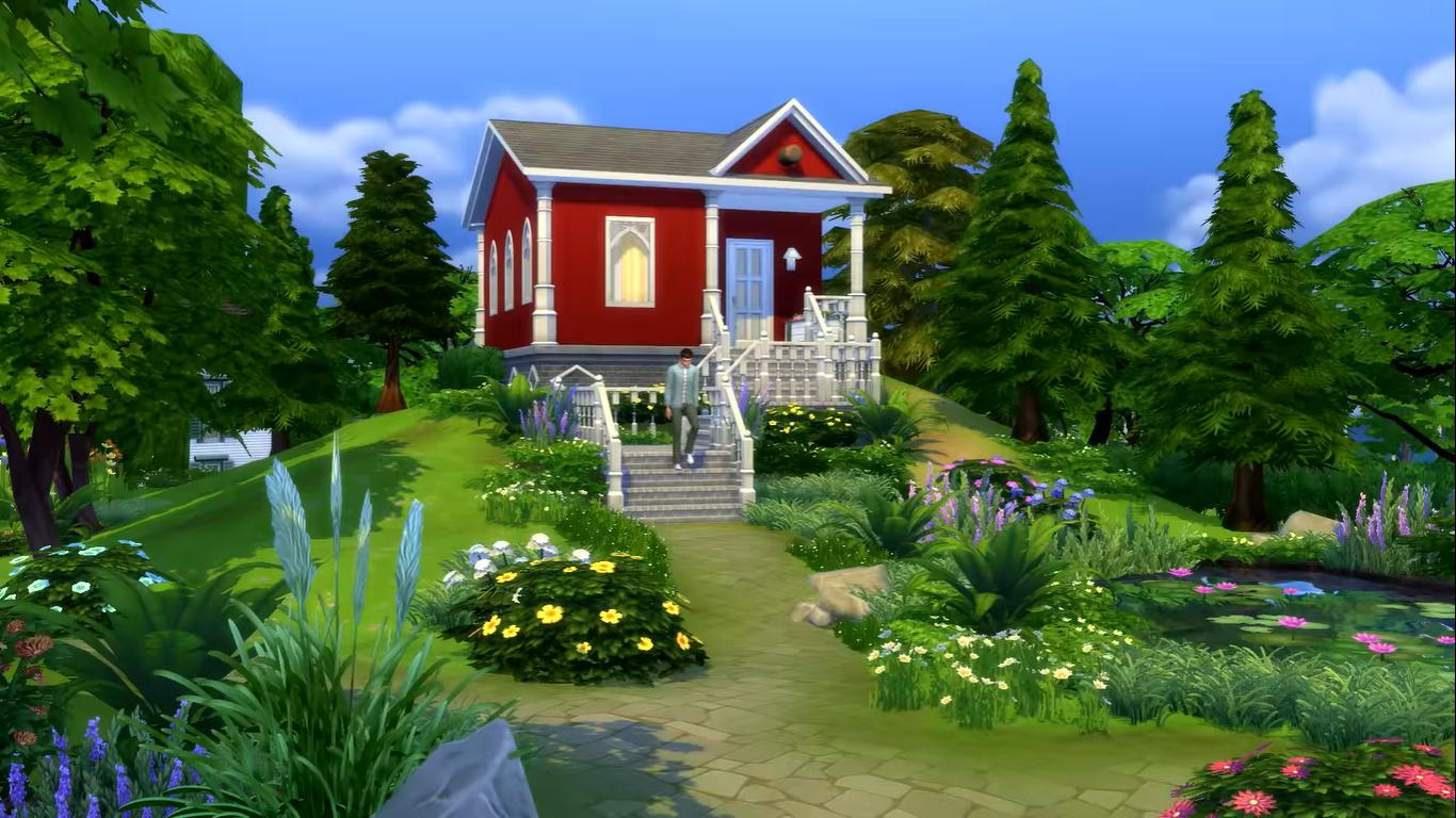 Сделайте жизнь в The Sims 4 компактнее с новым дополнением 'Tiny Living'