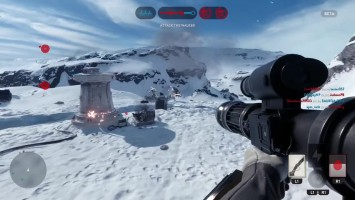 "Star Wars Battlefront ""Геймплей PS4"""