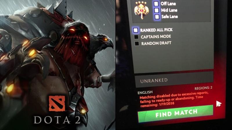 Игрока в Dota 2 по ошибке забанили до 2038 года - благодаря reddit блокировку сняли