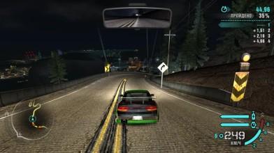 """Need for Speed: Carbon - автогонка с Энджи, Кендзи и Вольфом по ущелью, с использованием """"Ниссана 240SX"""""""