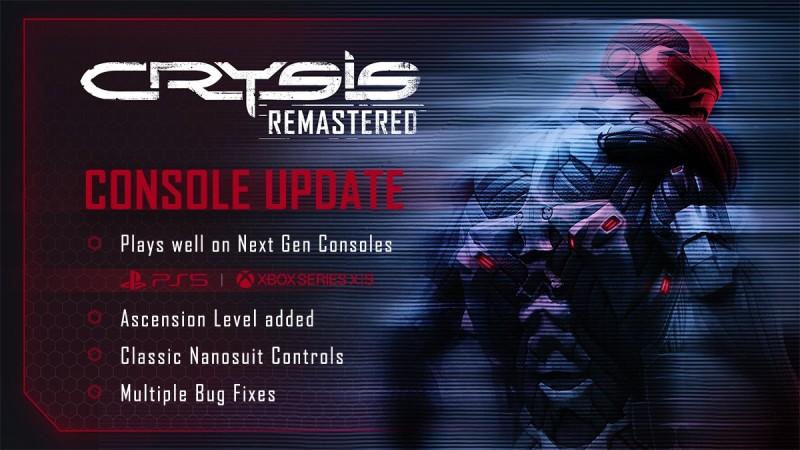Crysis Remastered получила обновление следующего поколения для Xbox Series X | S и PlayStation 5