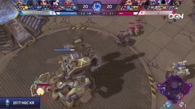 "Heroes of the Storm ""HOTS - Backdoor by Jeongha (MVP vs L5)"""