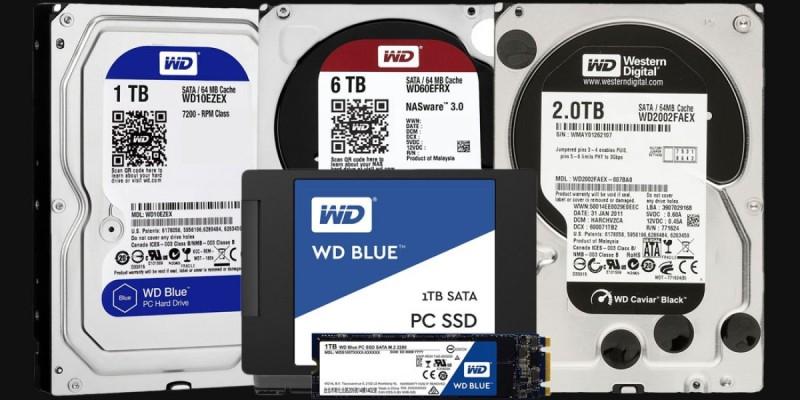 WD HDD SSD