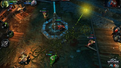 Дебютное геймплейное видео The Witcher Battle Arena