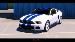 ETS2 - Need For Speed Ford Mustang