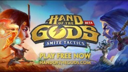Началось ОБТ Hand of the Gods: SMITE Tactics