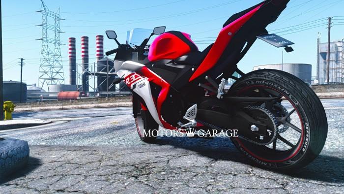 мотоцикл yamaha yzf r3 #6