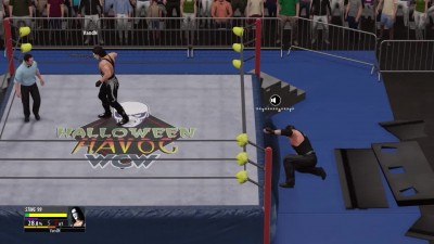 "WWE 2K16 ""2K16 Online Dream Match - The Icon Sting VS The Undertaker:"