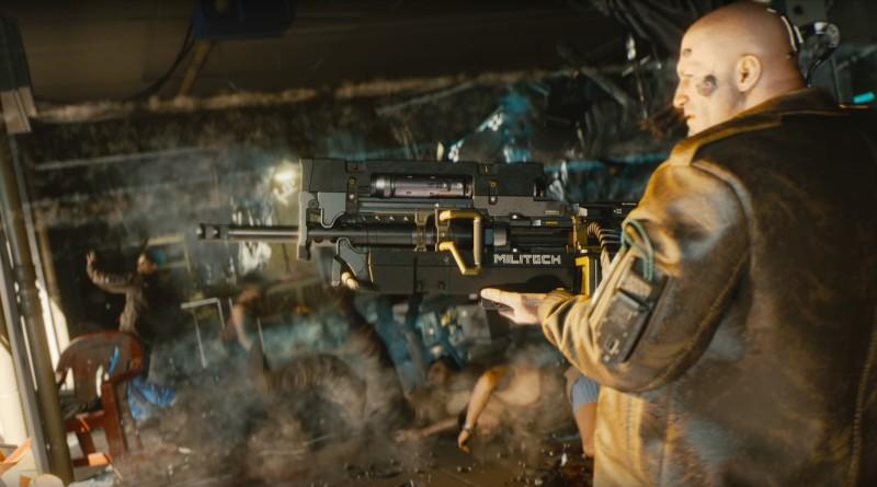 Более тяжелое оружие того же производителя. Похоже на снайперскую винтовку или очень крупнокалиберную DMR.