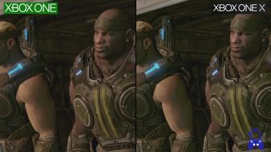 Сравнение графики Gears of War 3   Xbox 360 vs Xbox One vs Xbox One X