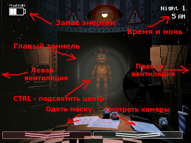 игра five nights at freddys 2 играть
