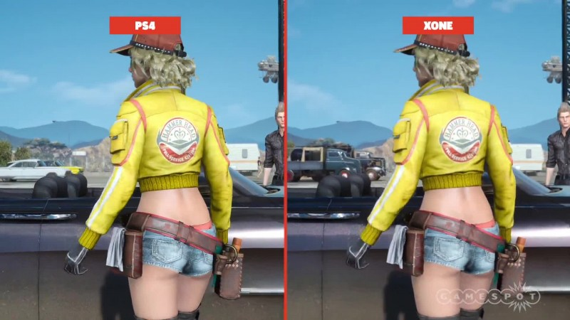 Final Fantasy XV Сравнение графики PS4 vs.Xbox One (GameSpot)