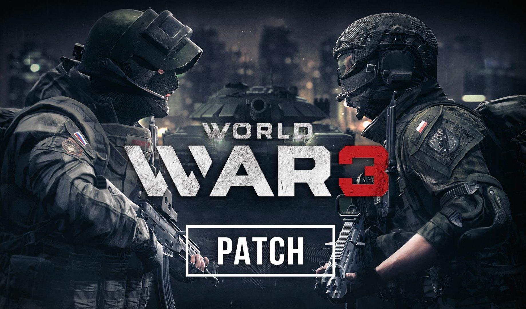 Для World War 3 выйдет крупное обновление
