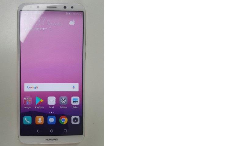 Huawei Mate 10 появился нафото