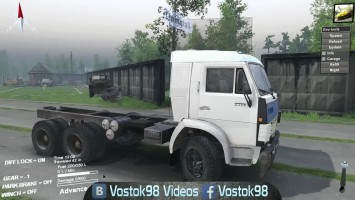 Spintires - КамАЗ-5320