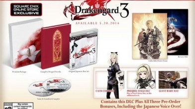 Drakengard 3 выйдет в мае 2014