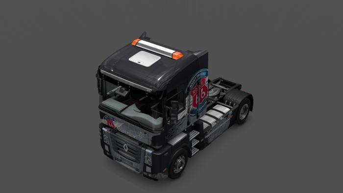 Моды на интерьер в euro truck simulator 2
