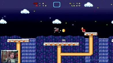 Super Mario Bros. X - 3 уровень - Снежные няшности (прохождение на русском)