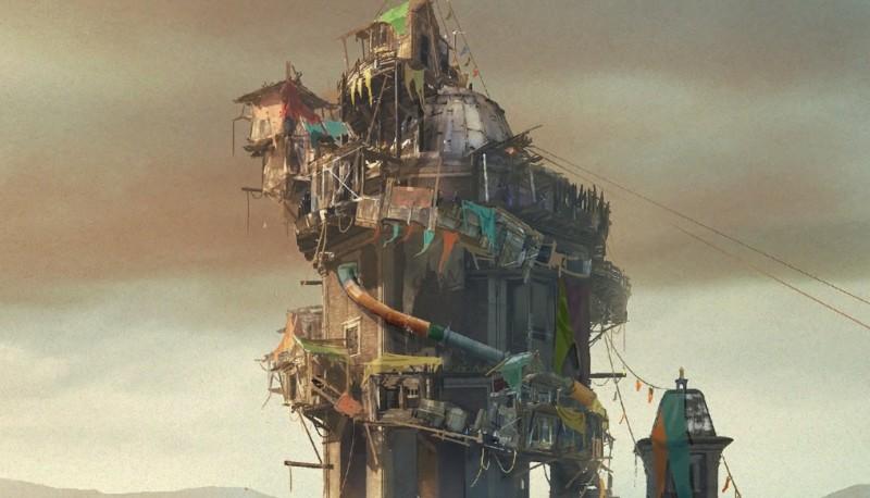Заброшенные улицы Города на новых концептах зомби-экшена Dying Light 2: Stay Human