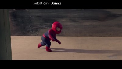 THE AMAZING SPIDER-MAN 2: Evian Baby & me 2 | 2014 Official Spot [HD]