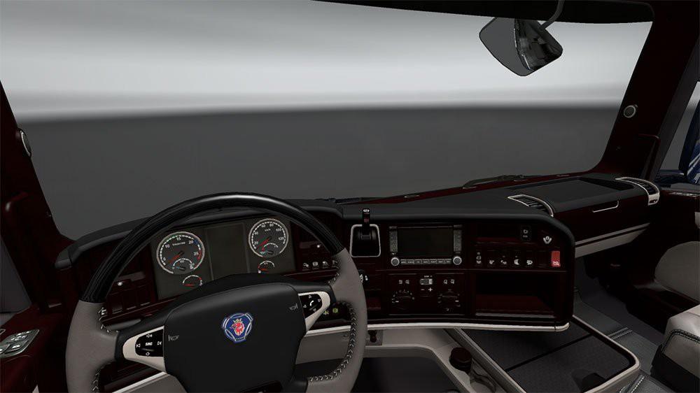 скачать мод салон для мерседес на euro truck simulator 2