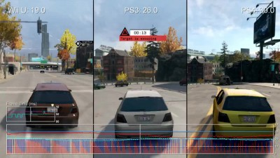"Watch_Dogs ""Сравнение частоты кадров для Wii U vs PS4 и PS3 от Digital Foundry"""