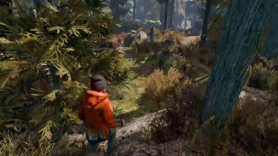 """Атмосферное прохождение хоррора """"Through the Woods"""" Часть 1."""
