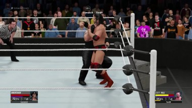 "WWE 2K16 ""Покойник против алкаголика:) Scott Hall VS The Undertaker"""