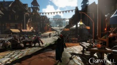 В Crowfall появились миры-кампании, развитие персонажа и ремесла