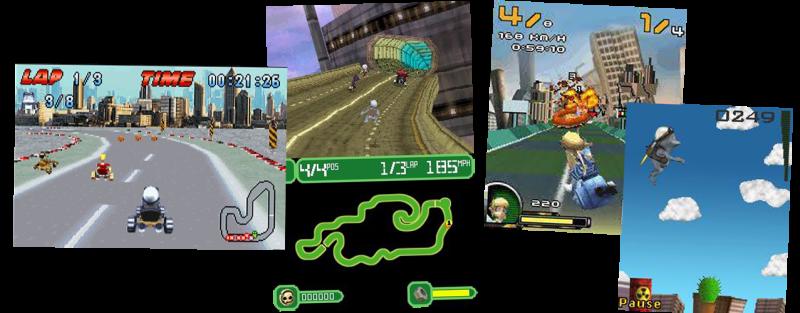Игры про лягушачьего писькотряса посетили как большие игровые платформы (PS2, PC), так и малые, по типу Nintendo DS и Advance, а также мобильных телефонов.