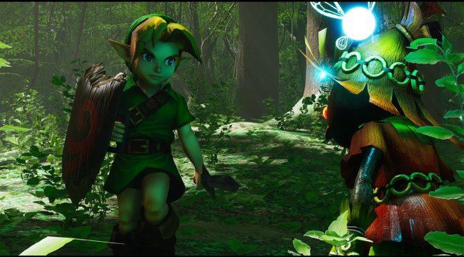 Ремейк Legend of Zelda: Ocarina of Time появился в Unreal Engine 4