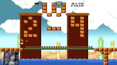 Super Mario Bros. X (v. 1.3) - The New Adventure by Alex v.2.0 - 2 уровень - Опять рыбы (на русском)