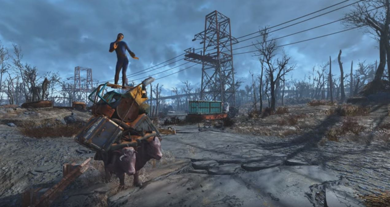 fo4 animations by leito