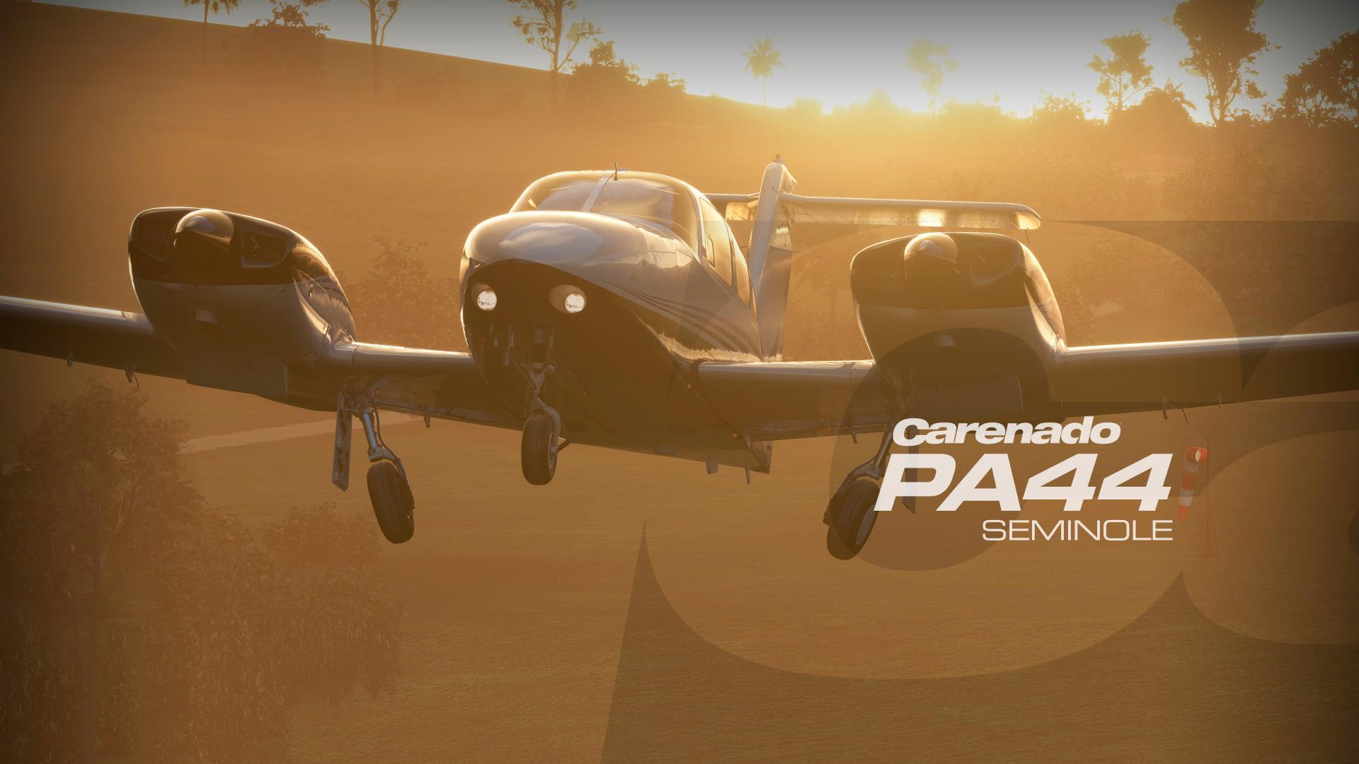 В Microsoft Flight Simulator появились знаменитые Bl riot XI и PA44 Seminole