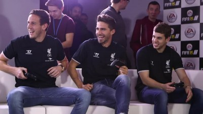 "FIFA 15 "" Liverpool FC vs Everton - Merseyside derby"""