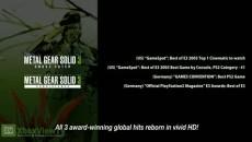 Metal Gear Solid - HD Collection | Официальный релизный трейлер