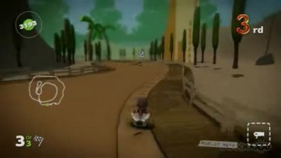 "LittleBigPlanet ""Karting Gameplay Demo"""