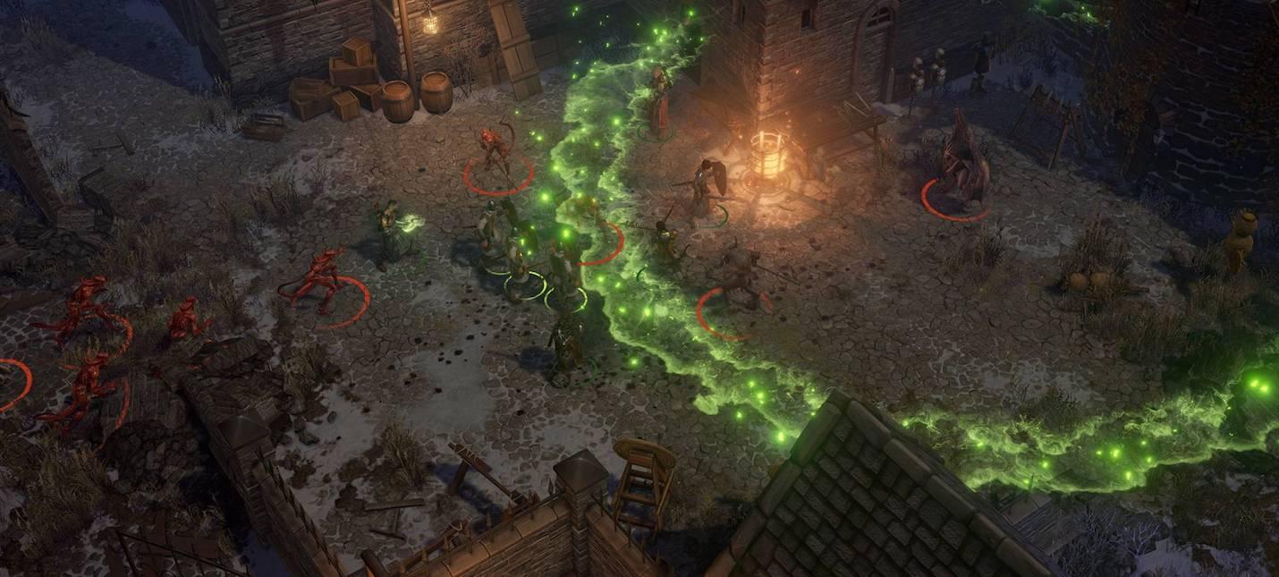 Pathfinder: Wrath of the Righteous будет иметь два боевых режима как в реальном времени, так и в пошаговом