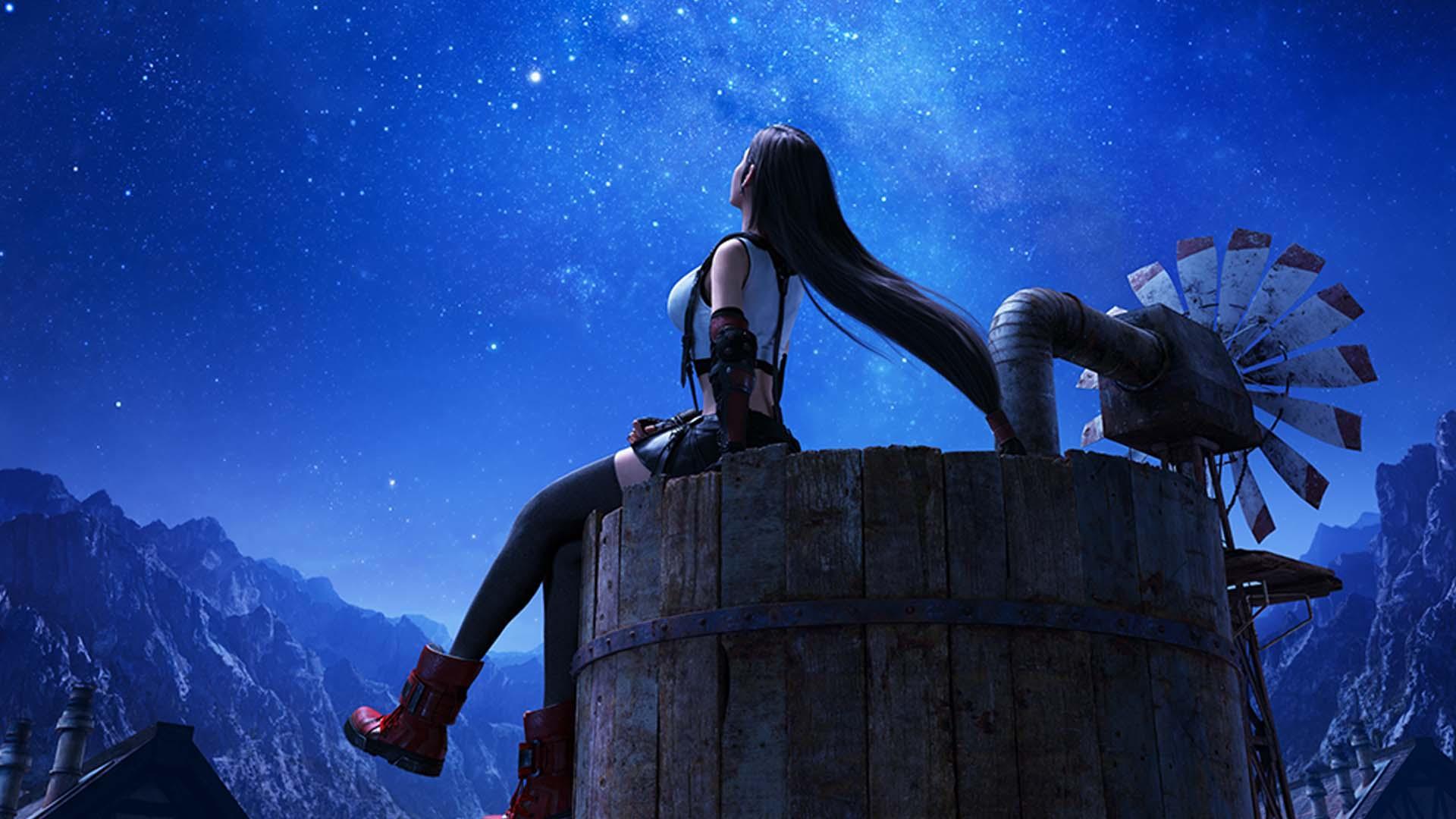 Sony бесплатно раздаёт динамическую тему Тифы из Final Fantasy 7 Remake