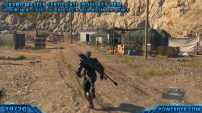 Metal Gear Solid V The Phantom Pain - All Key Items (Collector Trophy Achievement Guide)