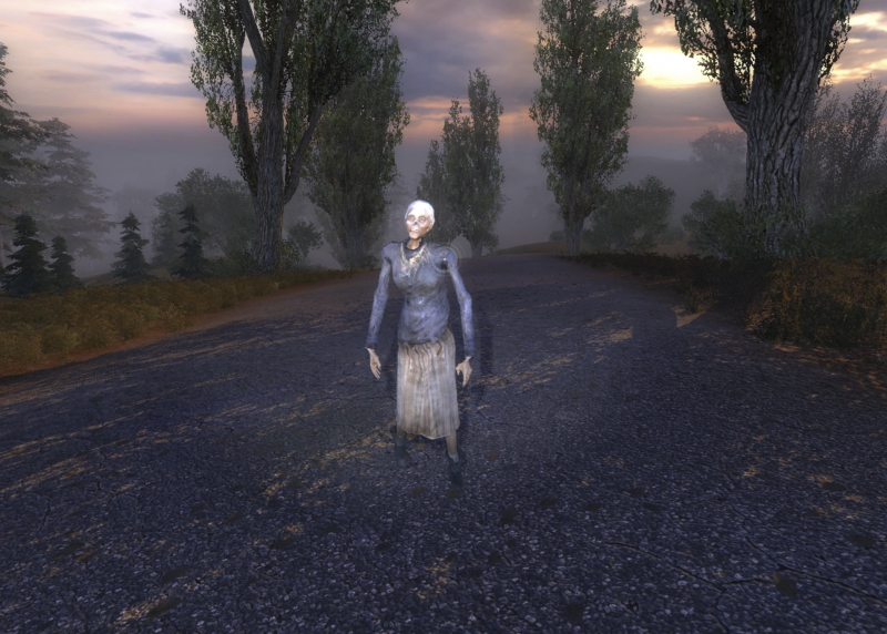 Зомби бабка 2