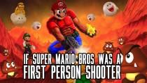 Если бы Марио был бы шутером от первого лица