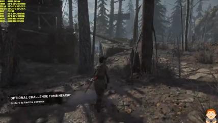 "Rise Of The Tomb Raider ""Тест производительности 0K на GTX 0080 TI SLI"""