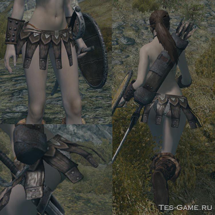 Короткие юбки для скайрима
