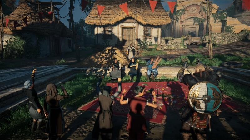 Assassin's Creed Valhalla - работы художников