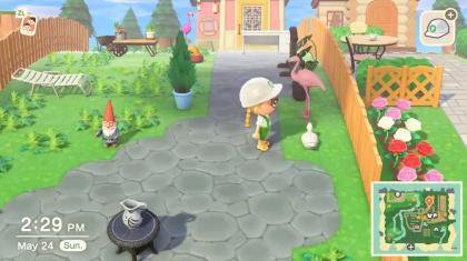 В Animal Crossing воссоздали знаменитую игру про вредного гуся