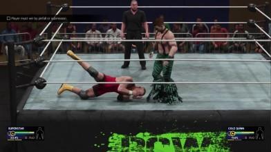 Первые 18 минут WWE 2K19